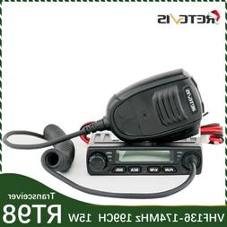 Mini Retevis RT98 Amateur Mobile Car Radio Ham UHF Transceiv
