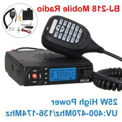 Mini VHF UHF Dual Band Auto Car Mobile FM Radio Transceiver