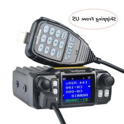 Mobile Car Radio Transceivers 25W VHF UHF 146/222/365/435MHz