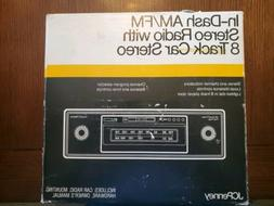 JCPenney Mobile In-Dash 8-track Car Stereo with AM-FM Stereo