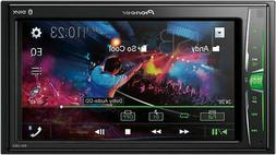 """Pioneer MVH-210EX Double 2-DIN 6.2"""" Touchscreen Car Stereo M"""