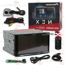 "PIONEER MVH-2400NEX 2DIN 7"" DIGITAL BLUETOOTH RADIO CHROME K"