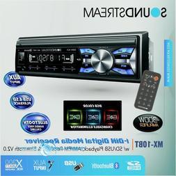 SOUNDSTREAM MX-10BT BUILT-IN BLUETOOTH CAR DIGITAL MEDIA PLA