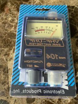 New Workman 104 VHF/UHF SWR/Watt Meter F