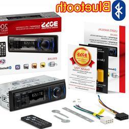 NEW Car Audio Car Stereo USB MP3 WMA AM FM Radio Single Din