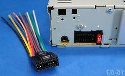 NEW JVC 16-PIN RADIO WIRE HARNESS CAR AUDIO STEREO POWER PLU