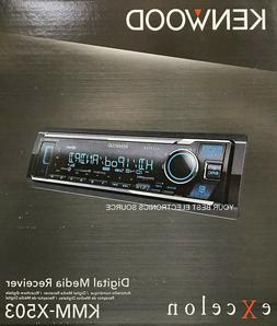 NEW Kenwood KMM-X503 1DIN Digital Media Car Stereo Receiver,