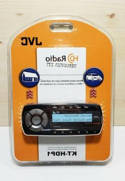 New JVC KT-HDP1 Transportable HD Audio Radio Tuner Car Home