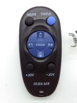 Wireless Remote Control for JVC Car Stereo RM-RK50 with Batt