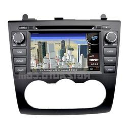 2007-2012 Nissan Altima In-Dash GPS Navigation Radio DVD Blu