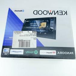 "Open Box New Kenwood DDX374BT 6.2"" DVD Multimedia Receiver w"