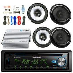 "Pioneer Bluetooth Car CD Radio, 4CH 400W Amplifier, 6.5"" Ken"