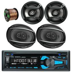 "Pioneer AUX USB Car Audio Radio Receiver, Pioneer 6.5"" and 6"