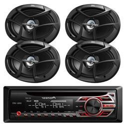 Pioneer CD MP3 Playback AM/FM Radio Single Din Car Receiver