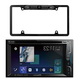 "Pioneer 6.2"" Double Din Bluetooth SiriusXM Ready DVD Receive"