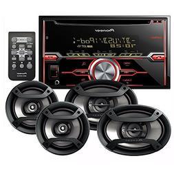 PIONEER FH-X720BT CD RECEIVER CD BLUETOOTH + PIONEER TS-695P