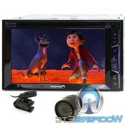 "pkg PIONEER AVH-500EX 6.2"" DVD CD MP3 USB IPOD STEREO BLUETO"