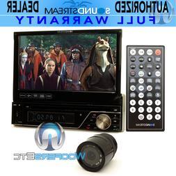 "pkg SOUNDSTREAM VR-7830B 7"" TV CD DVD USB BLUETOOTH + XO VIS"