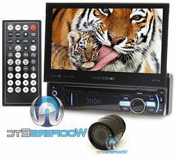 "pkg SOUNDSTREAM VR-75B 7"" TV CD DVD MP3 SD USB AUX BLUETOOTH"
