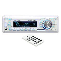 Pyle PLMR19W AM-FM-MPX PLL Tuning Radio with SD-MMC-USB & We