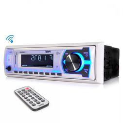 Pyle Car Radio Radio Para Barco Marina Receptor Estéreo Blu
