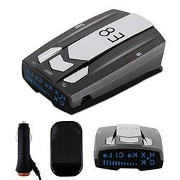 Radar Detector E8, Car Speed Laser Radar Detector with LED D