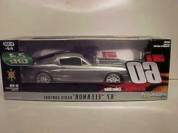 Radio Control Gone in 60 Eleanor 1967 Ford Mustang Car 1:18