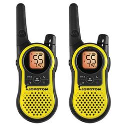 Motorola 23-Mile Range 22-Channel FRS/GMRS Two-Way Radio, Ha