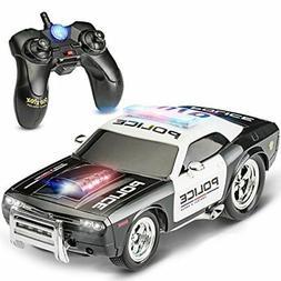 Prextex RC Police Car Remote Control Police Car RC Toys Radi