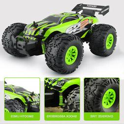 Rechargeable 1/18 Offroad RC Car Racing Truggy Fast Speed 2.