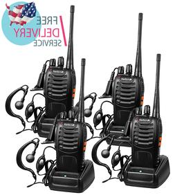 Arcshell Rechargeable Long Range Two-Way Radios with Earpiec