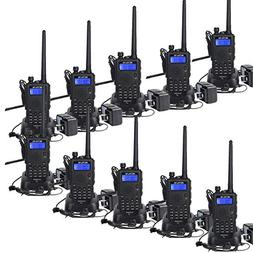 Retevis RT5 7W Dual Band Walkie Talkies Rechargeable UHF VHF