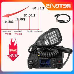 Retevis RT95 Dual Band 200CH VHF/UHF Mobile Car Radio 25W Ta