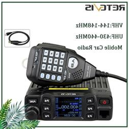 Retevis RT95 UHF+VHF Mobile Amateur Car Radio 25W CTCSS/DCS