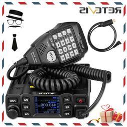 Retevis RT95 Mobile Car Radio Transceiver Dual Band 25W 200C