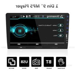 "Single 1 Din 9"" Car FM USB MP5 Player Touchscreen Stereo Rad"