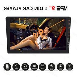 """SIngle 1 Din 9"""" Car FM USB MP5 Player Touch Screen Stereo Au"""