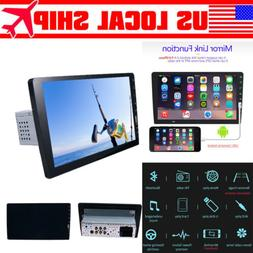 Single 1 Din 9 Inch Car Stereo FM USB AUX MP5 Player Touch S