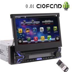 Single 1Din Android 10.0 Car Stereo GPS Navi Radio MP5 Playe