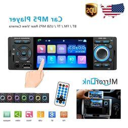 Single 1Din Car Radio Car Video Player 4'' HD Touch Screen M
