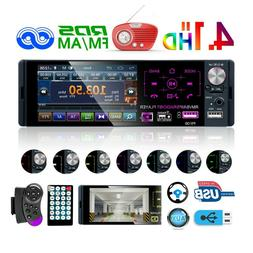 "Single 1DIN Car Radio Stereo 4.1"" MP5 TouchScreen RDS AM FM"