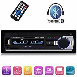 single din car stereo reveiver with bluetooth