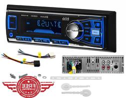 single din usb aux radio car stereo