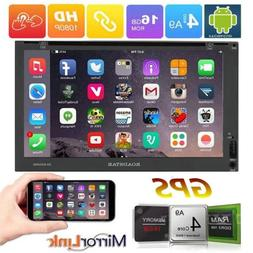 "Smart 7"" Android 6.0 Double 2DIN Car Radio Stereo DVD Player"