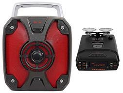 Escort Solo S4 Cordless Battery Operated Radar Laser Detecto