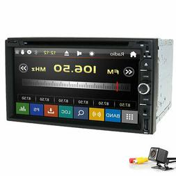 """Sony CD Lens Double 2Din In Dash 7""""Car Stereo Radio DVD Play"""