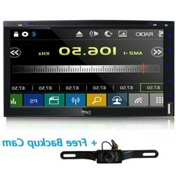 "Sony Lens 7"" Car Stereo Radio DVD Player iPod Bluetooth TV M"