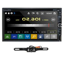 """Sony lens Double 2 Din 7""""Car Stereo Radio DVD Player In Dash"""
