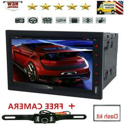 Sony Lens Double 2DIN Touch Bluetooth DVD/CD Player Car Ster