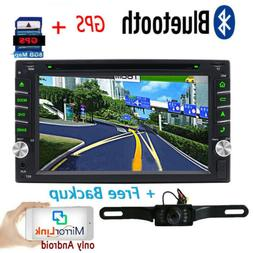 For Sony Lens GPS Double Din Car Stereo Radio DVD mp3 Player